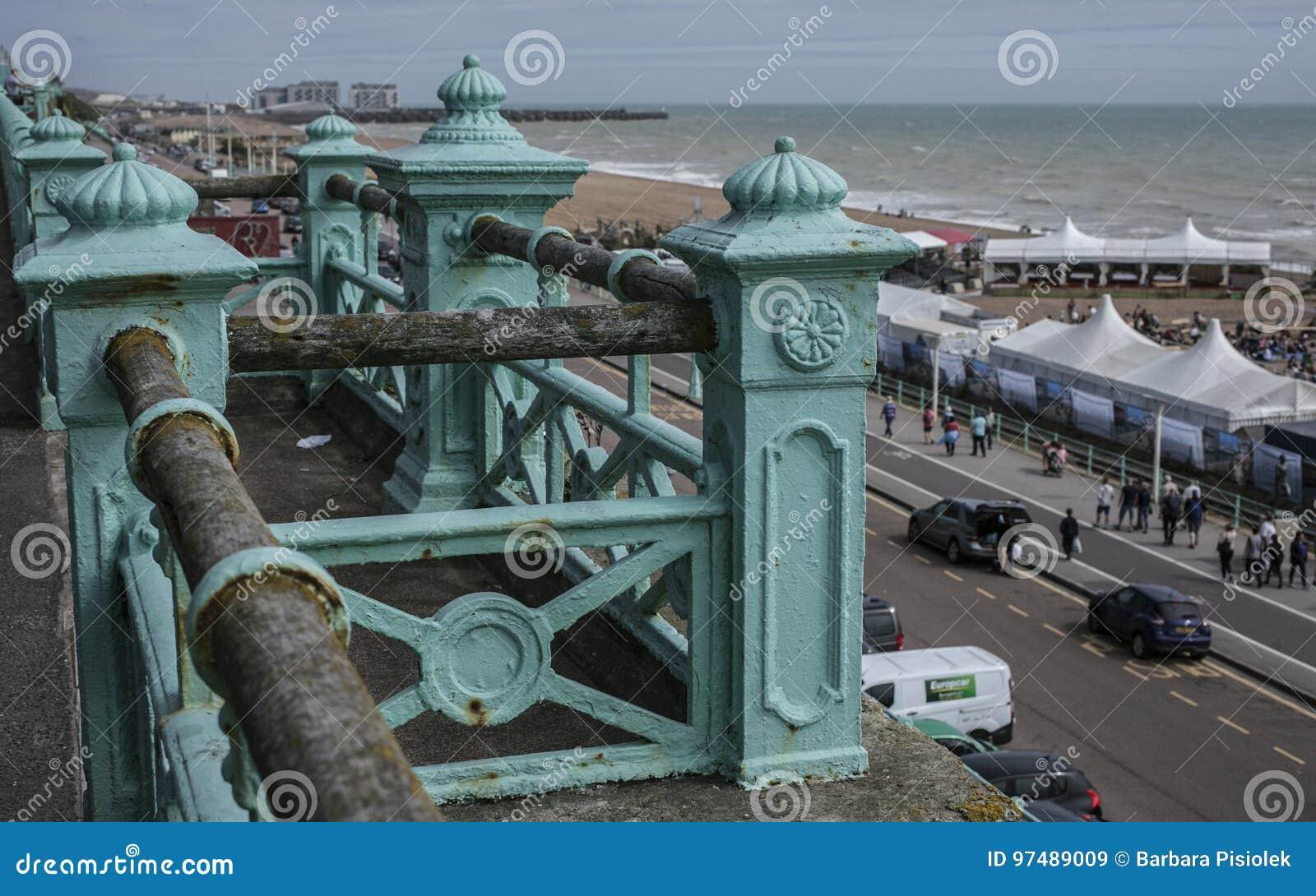 Brighton - l inferriata ed il mare