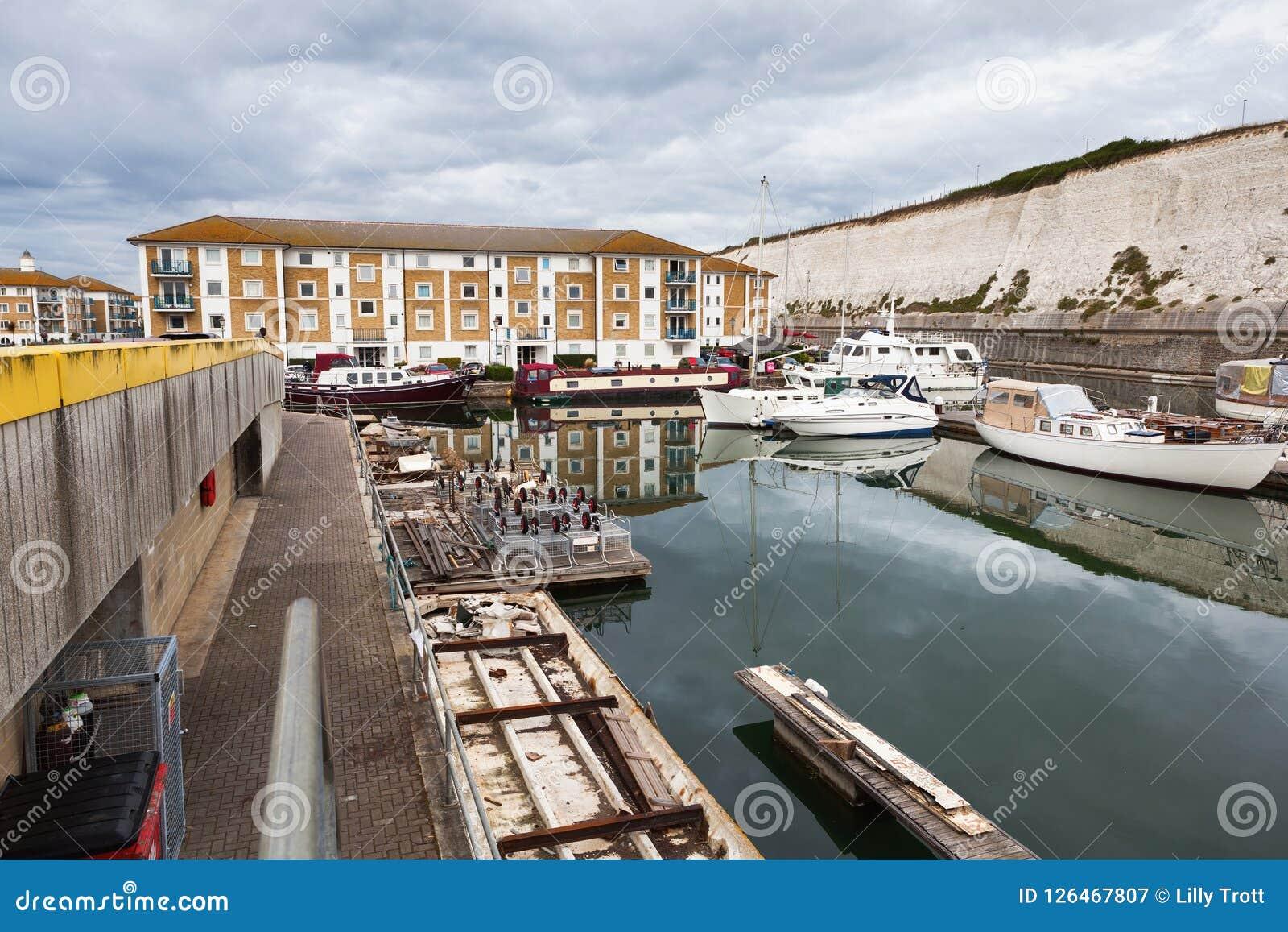 Brighton Marina, East Sussex, England Editorial ...