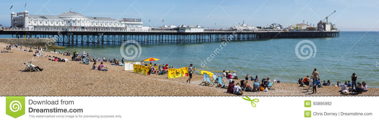 Brighton Pier dans le Sussex