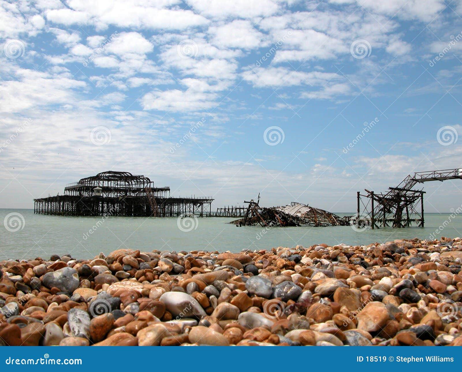 Brighton pier west