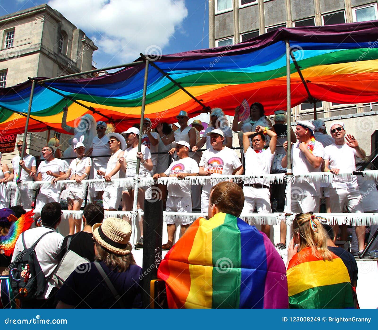 Brighton Pride ståtar