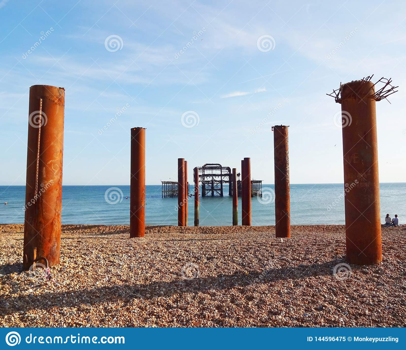 Brighton West Pier et piliers 5