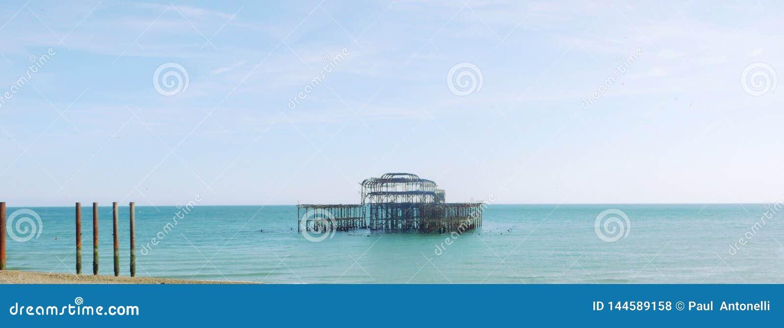 Brighton West Pier-Panorama