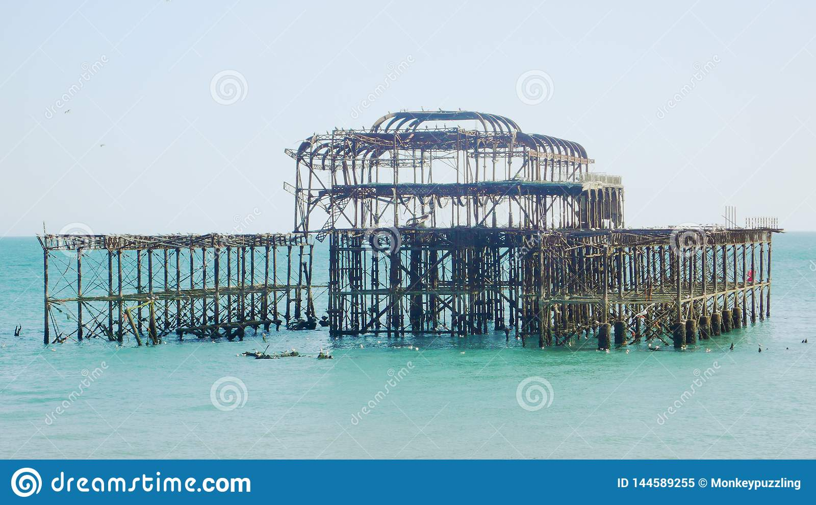 Brighton West Pier slutsikt