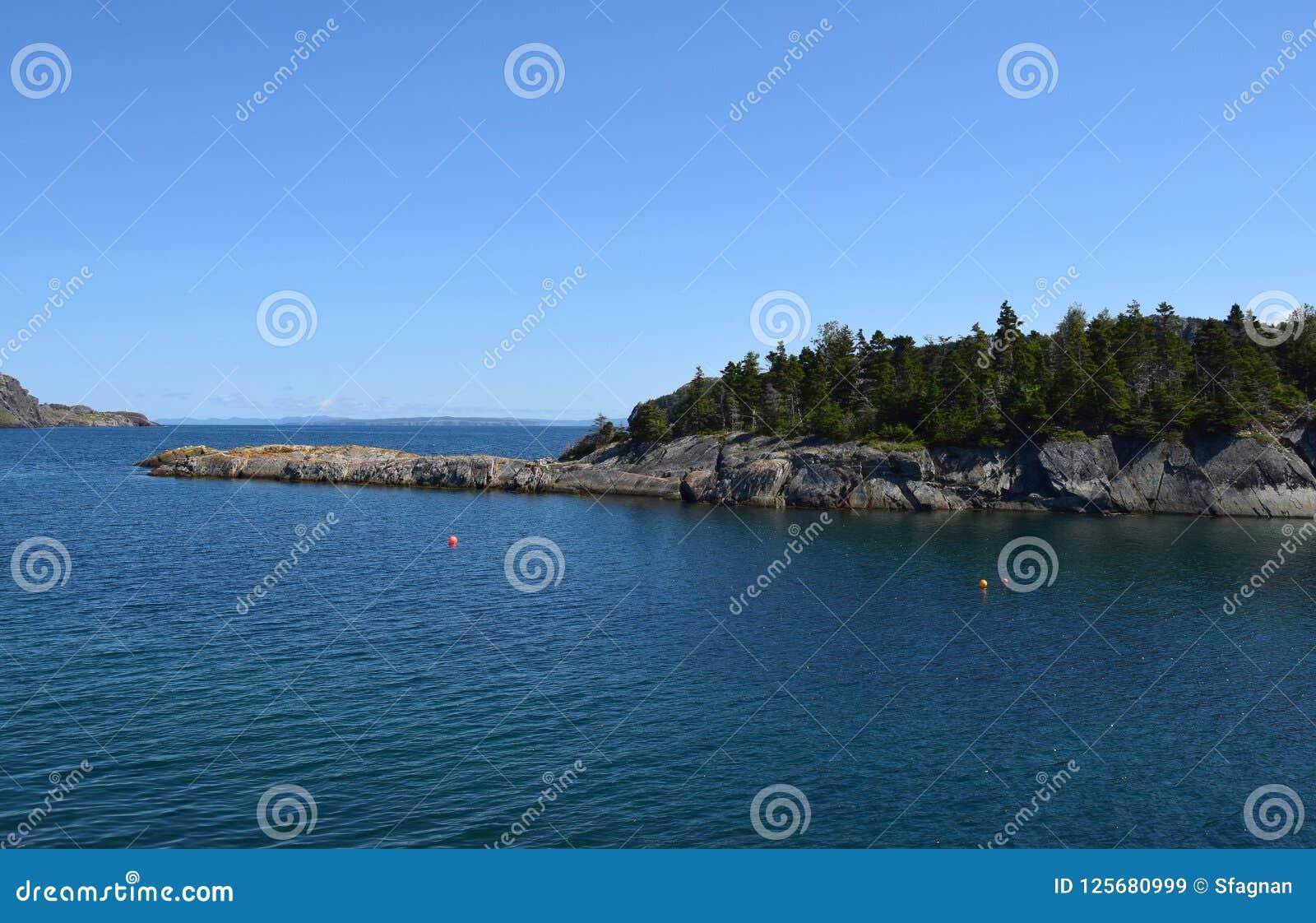 Brigus Conception Bay Coastline Nl Canada Stock Image Image Of