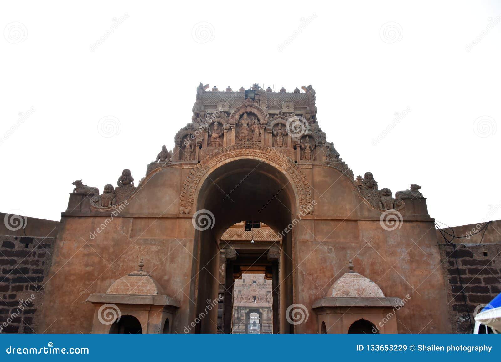 Brihadeeswara-Tempel, Thanjavur, Tamil Nadu