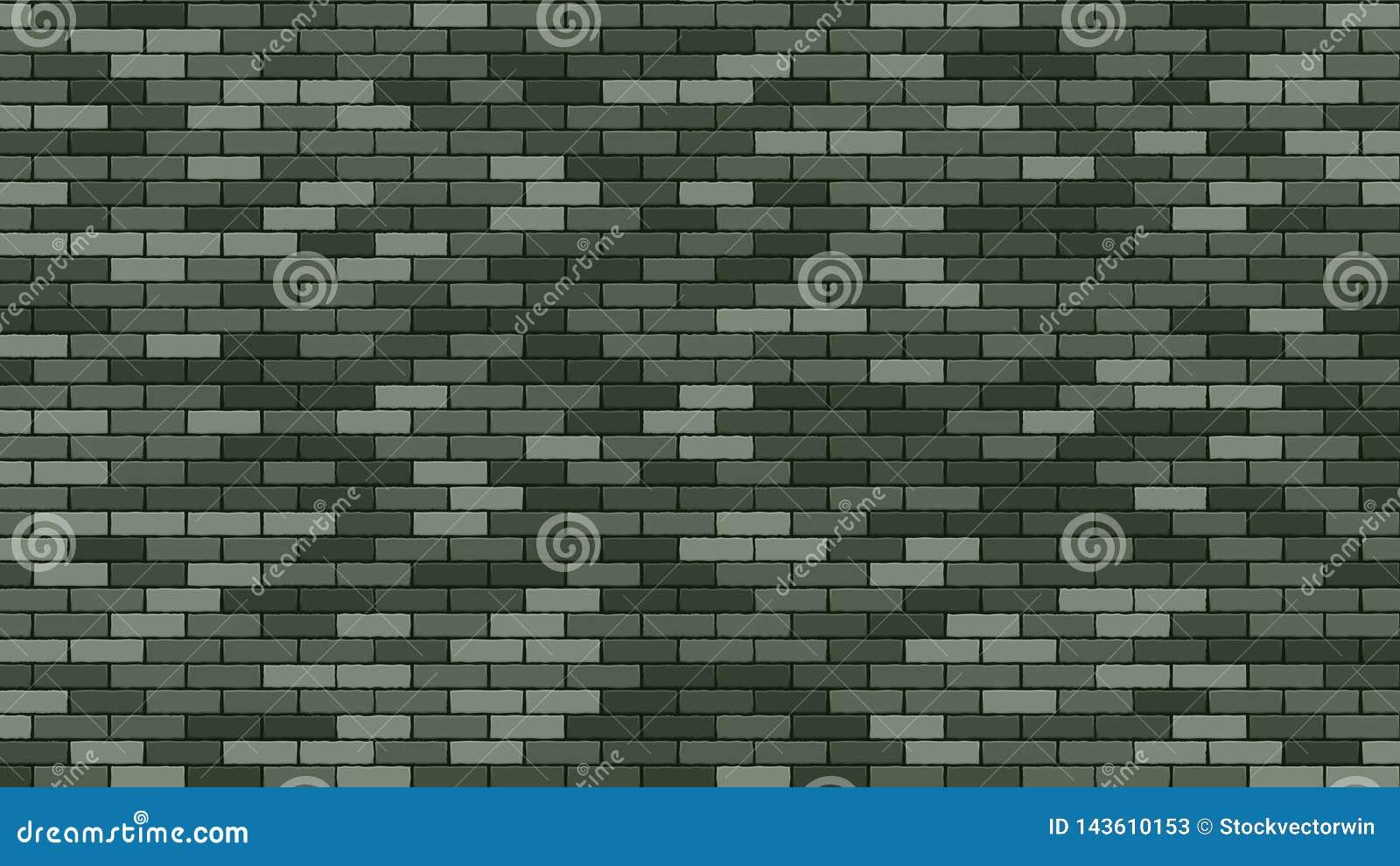 Brik墙壁传染媒介 绿色石头Brik墙壁Buidling 军事2月23日Brik墙壁背景 动画片司令员枪他的例证战士秒表