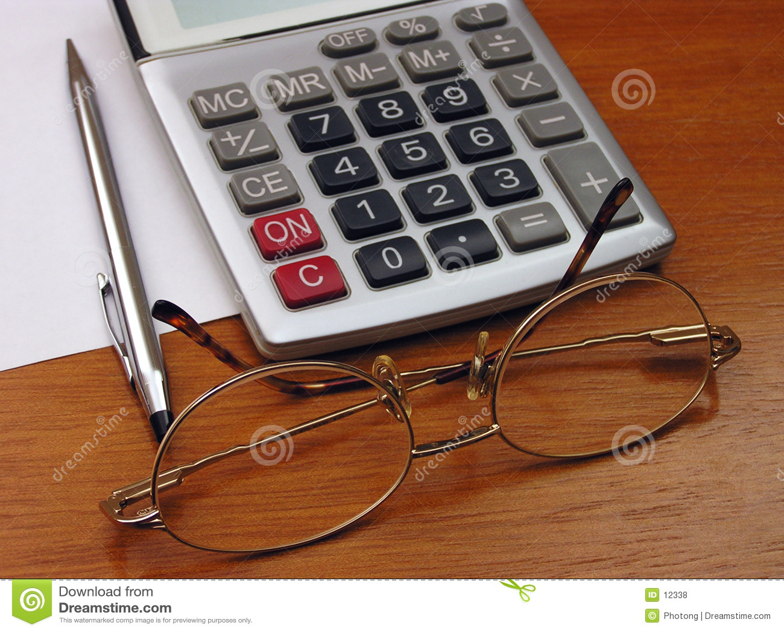Bril en calculator