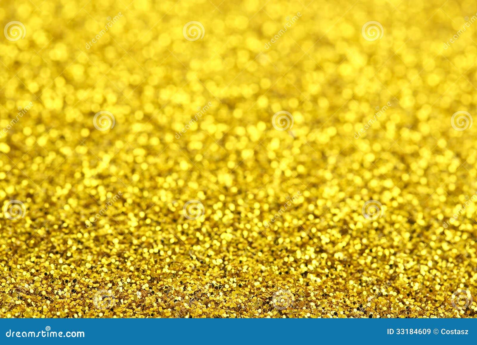 Brilho dourado