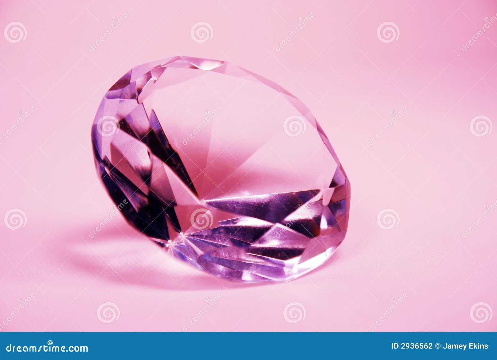 Briljant diamantpink