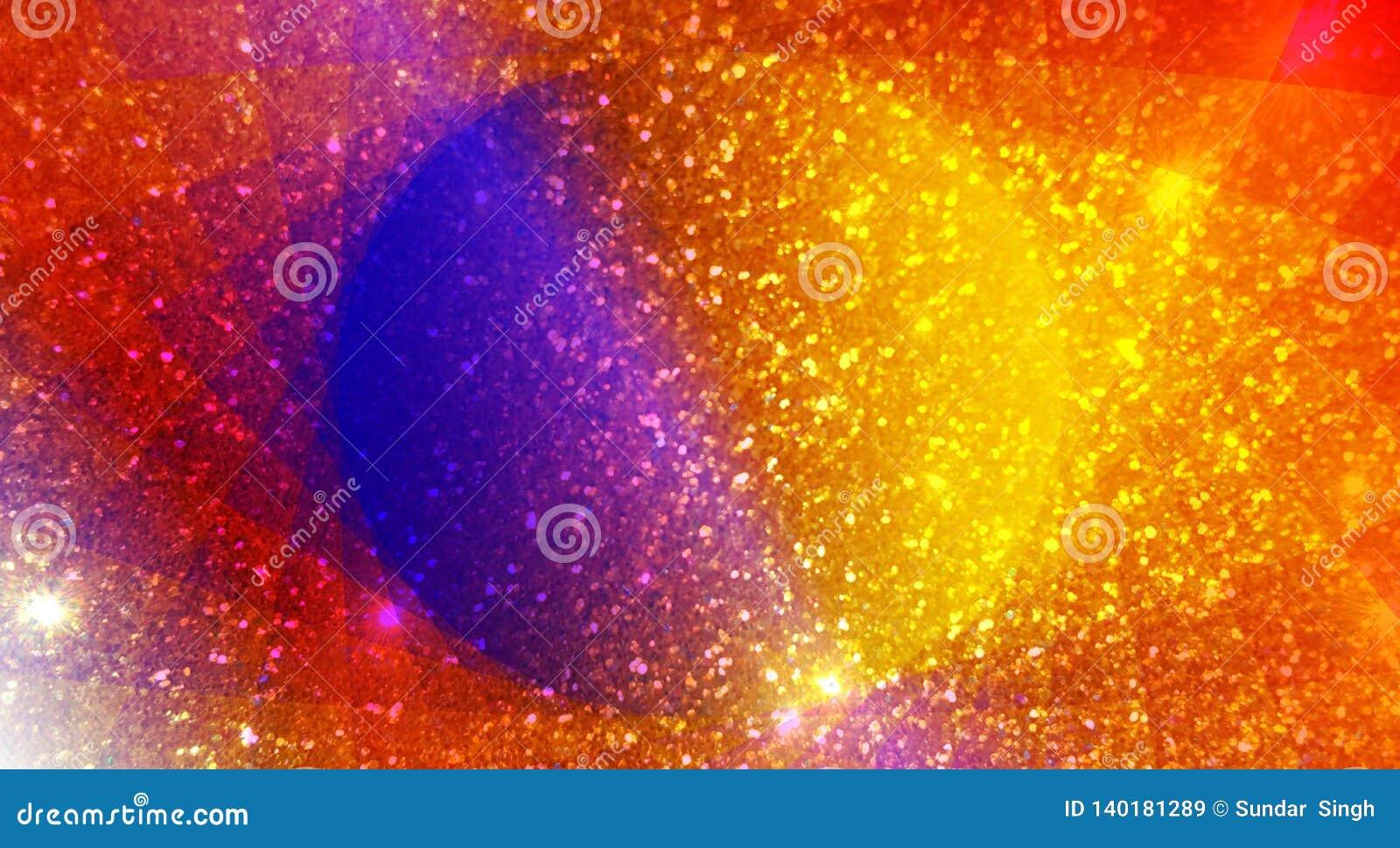 Brillano il fondo, luminosi strutturati, brillanti e fondo di effetti della luce