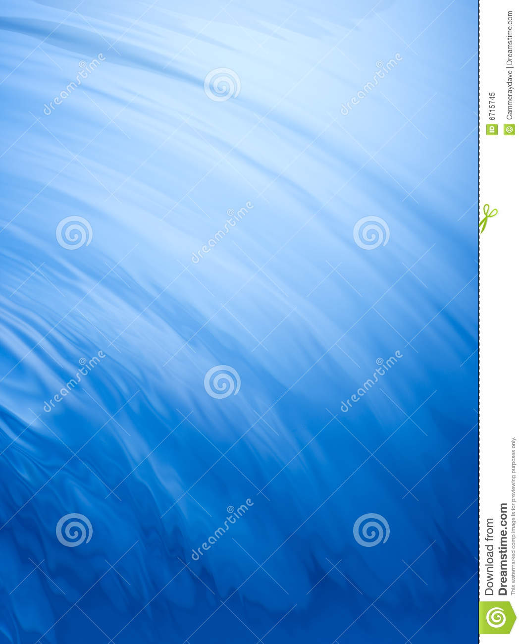Deep Blue Water Background