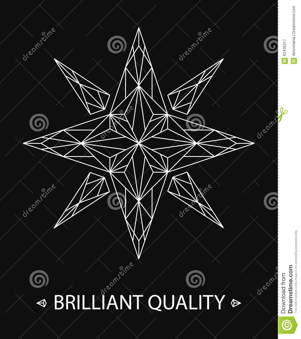 Brilliant Star Logo Stock Vector Illustration Of Abstract - Business card website template