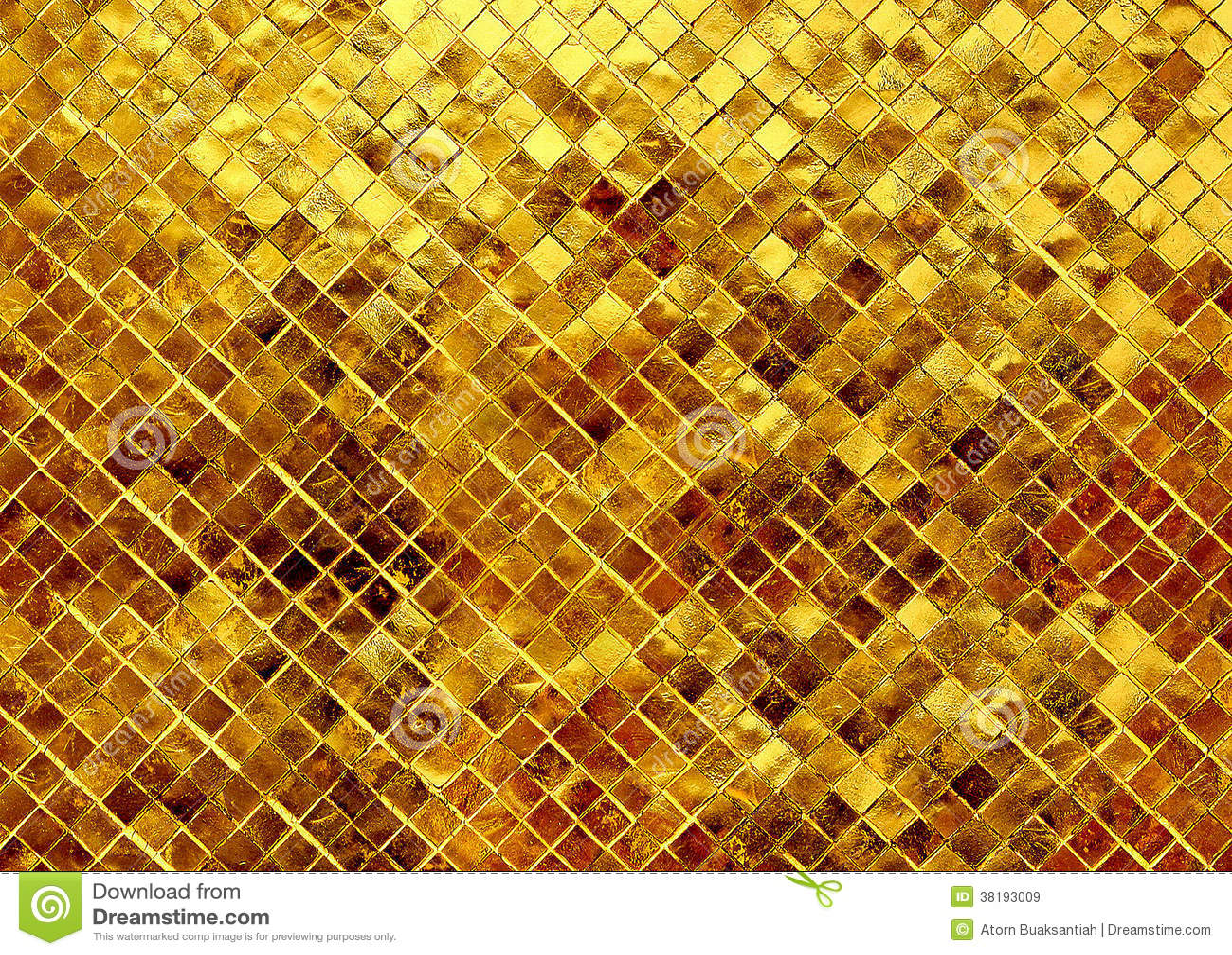 Brillo de la textura del oro