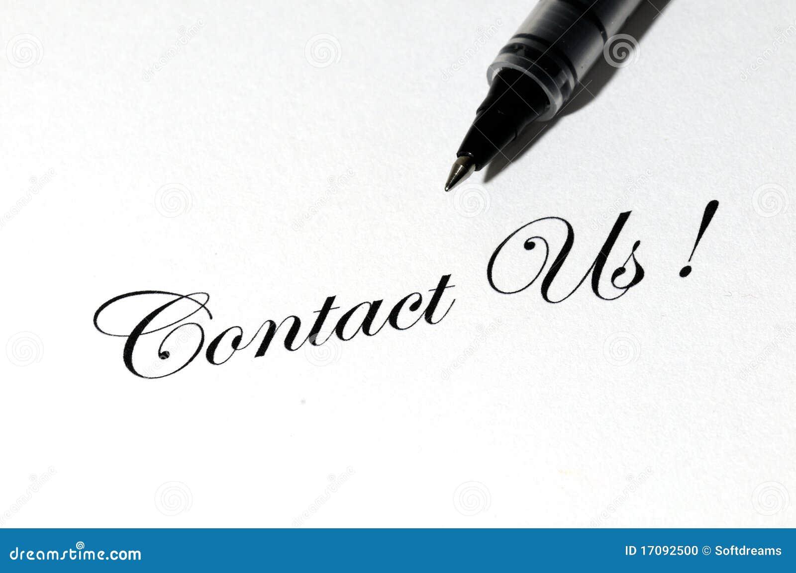 Bringen Sie uns in Kontakt!