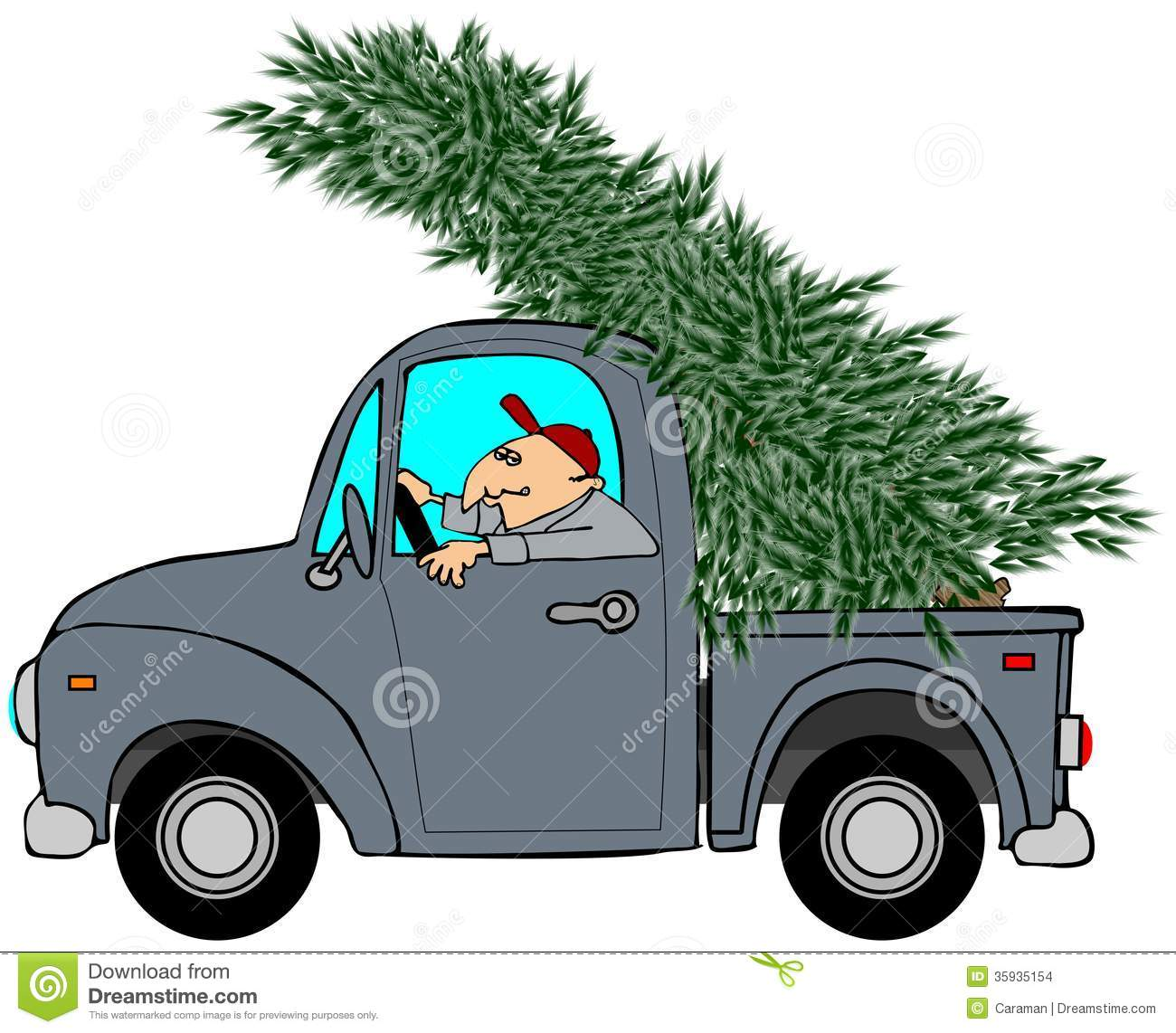 Wonderful Free Christmas Tree Pick Up Part - 2: Royalty-Free Stock Photo. Download Bringing Home The Christmas Tree ...