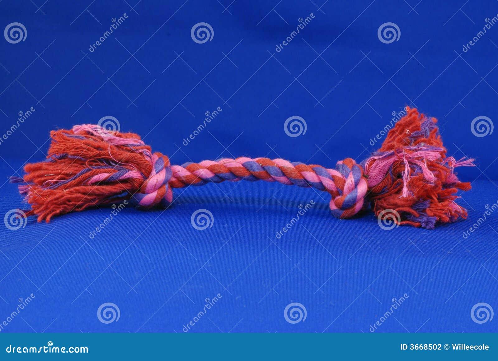 Brinquedo da corda do reboque do cão