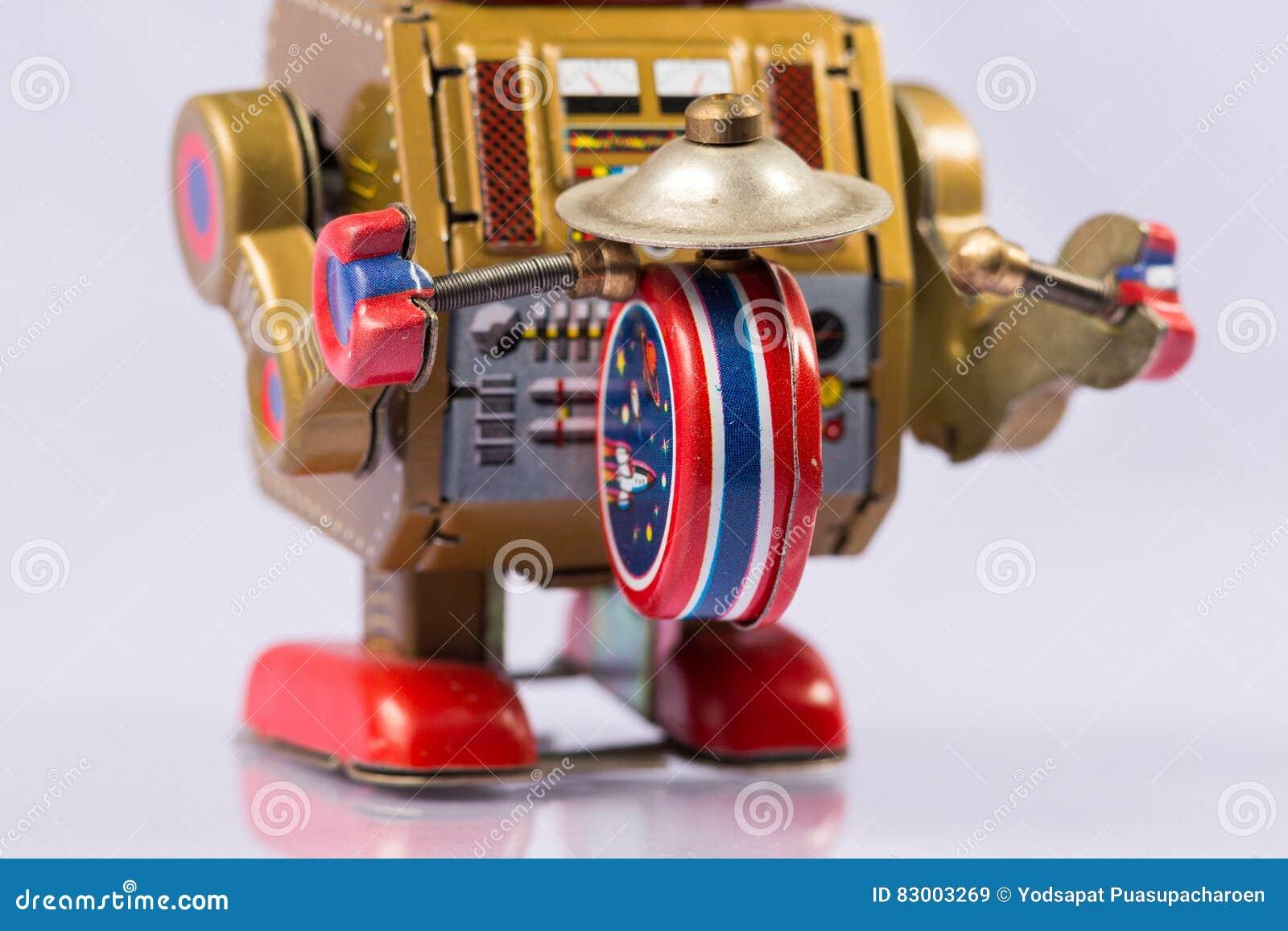 Brinquedos clássicos do robô
