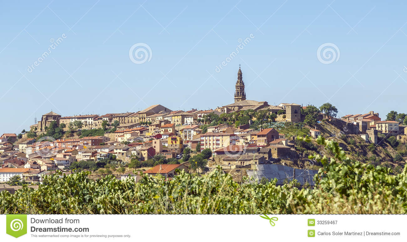 La Rioja Spain  city pictures gallery : Briones Village, La Rioja, Spain Royalty Free Stock Photography ...