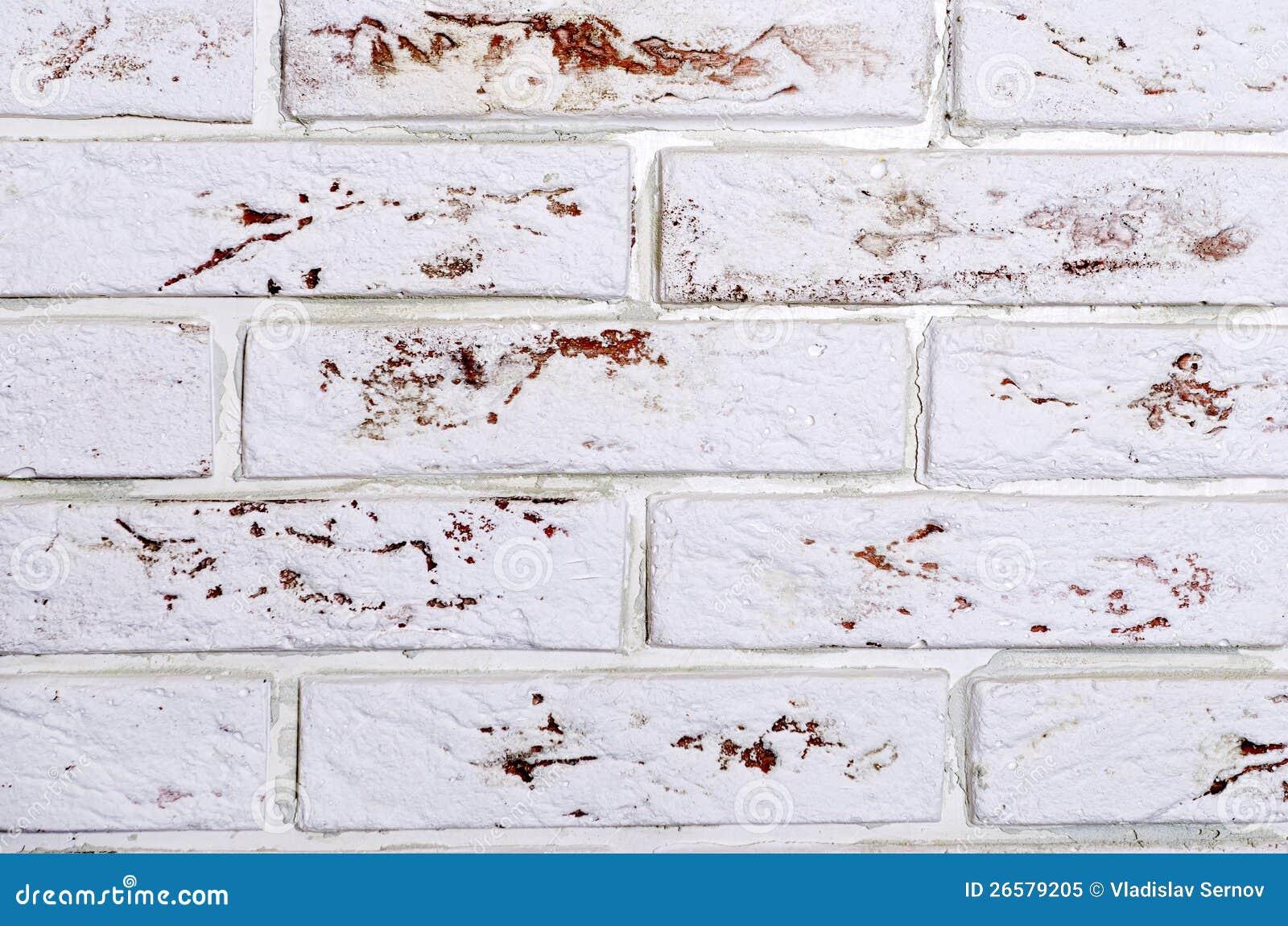 Brique d corative photo libre de droits image 26579205 for Mur de brique decorative
