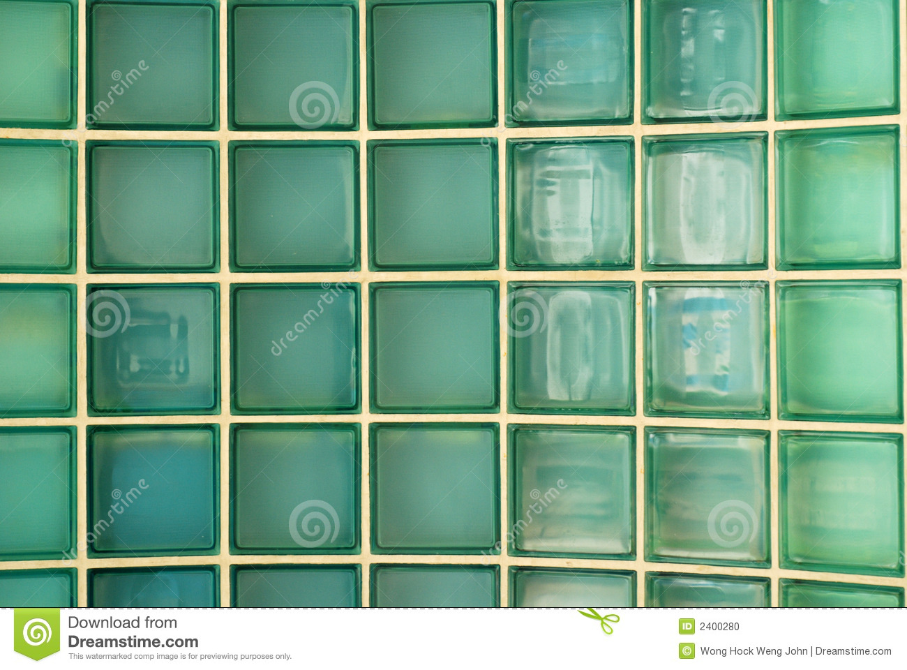 Brique de mur en verre photo stock image 2400280 - Mur de brique de verre ...