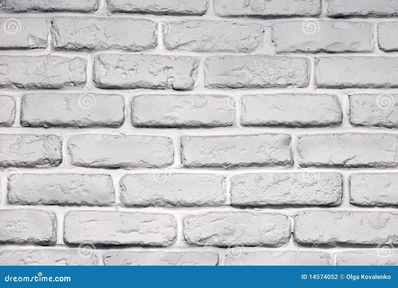 brique de mur peinte photographie stock image 14574052. Black Bedroom Furniture Sets. Home Design Ideas