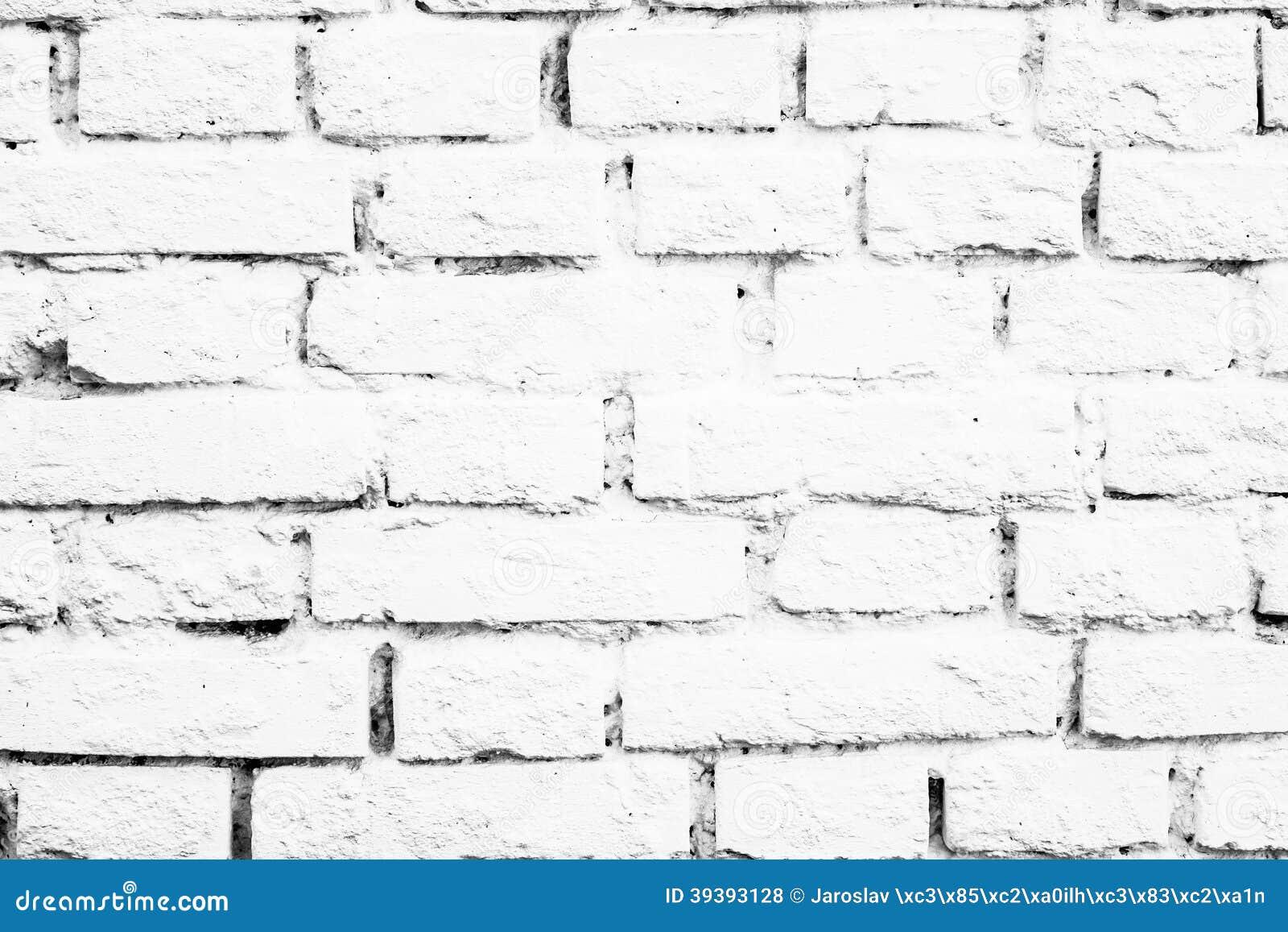 briques blanches de mur photo stock image du ligne mat riau 39393128. Black Bedroom Furniture Sets. Home Design Ideas