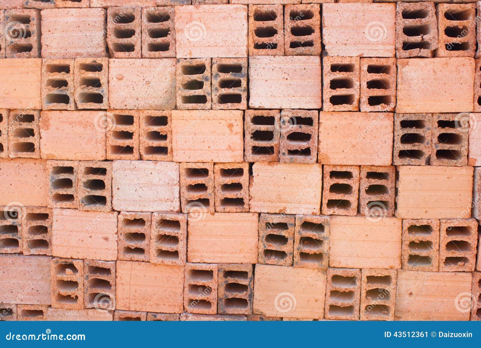 briques creuses photo stock image 43512361. Black Bedroom Furniture Sets. Home Design Ideas