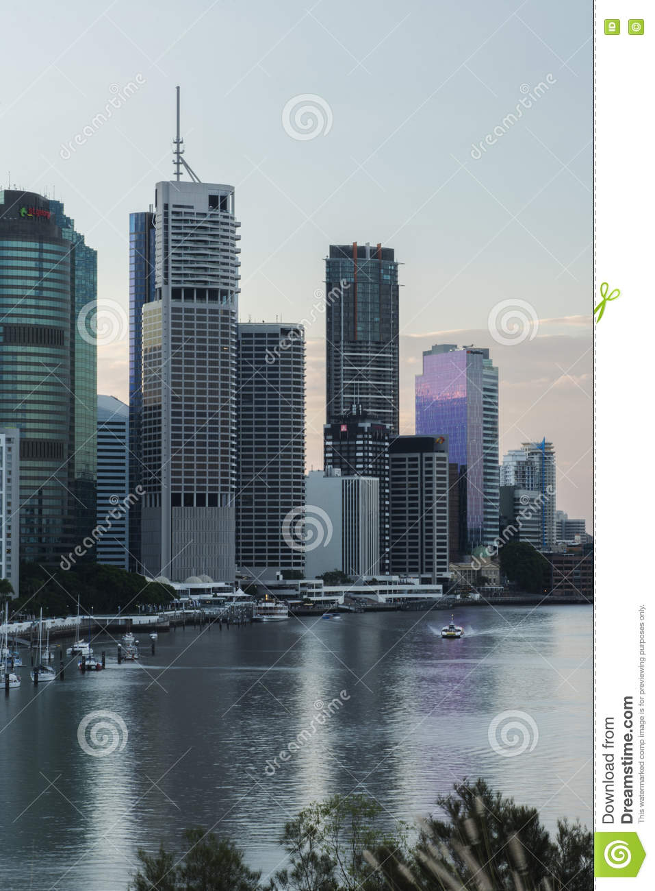 What is the date and time in Brisbane
