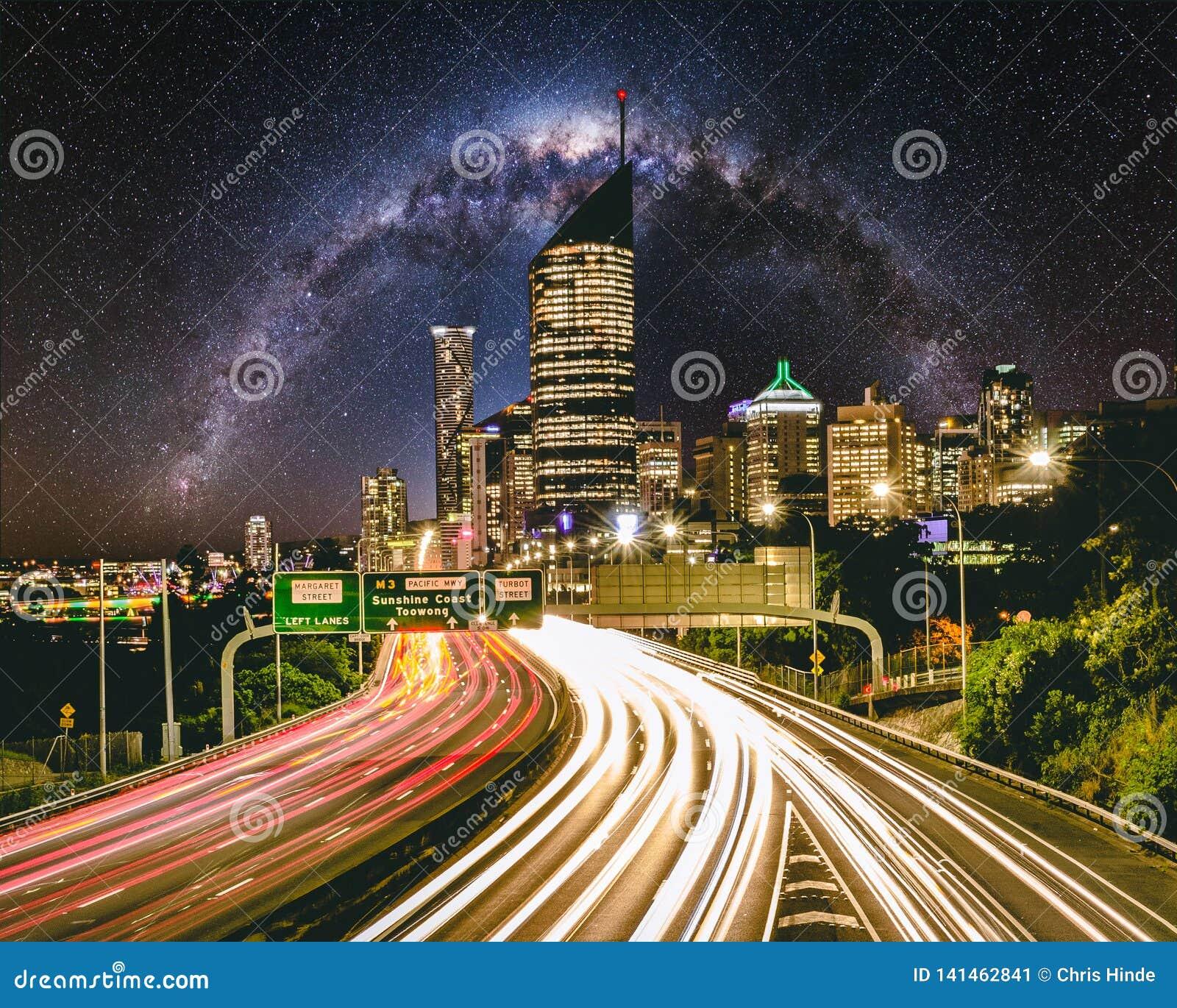 Brisbane miasta autostrada 3