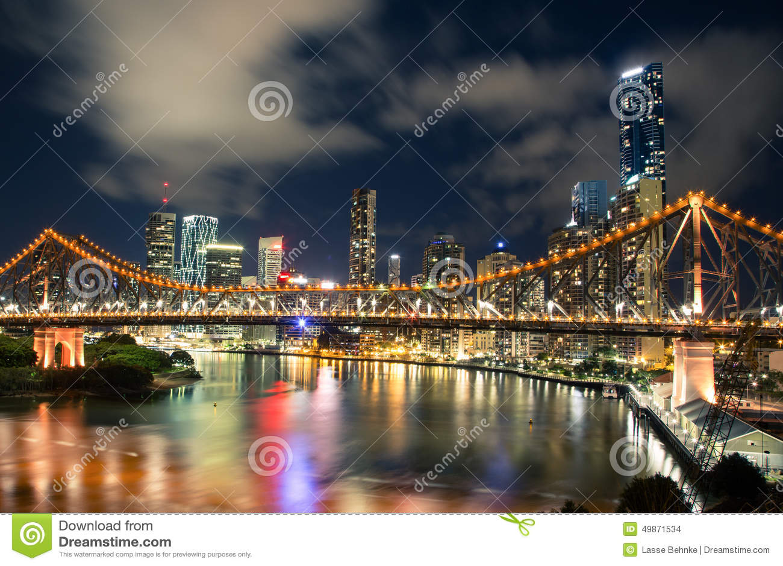 Brisbane na noite