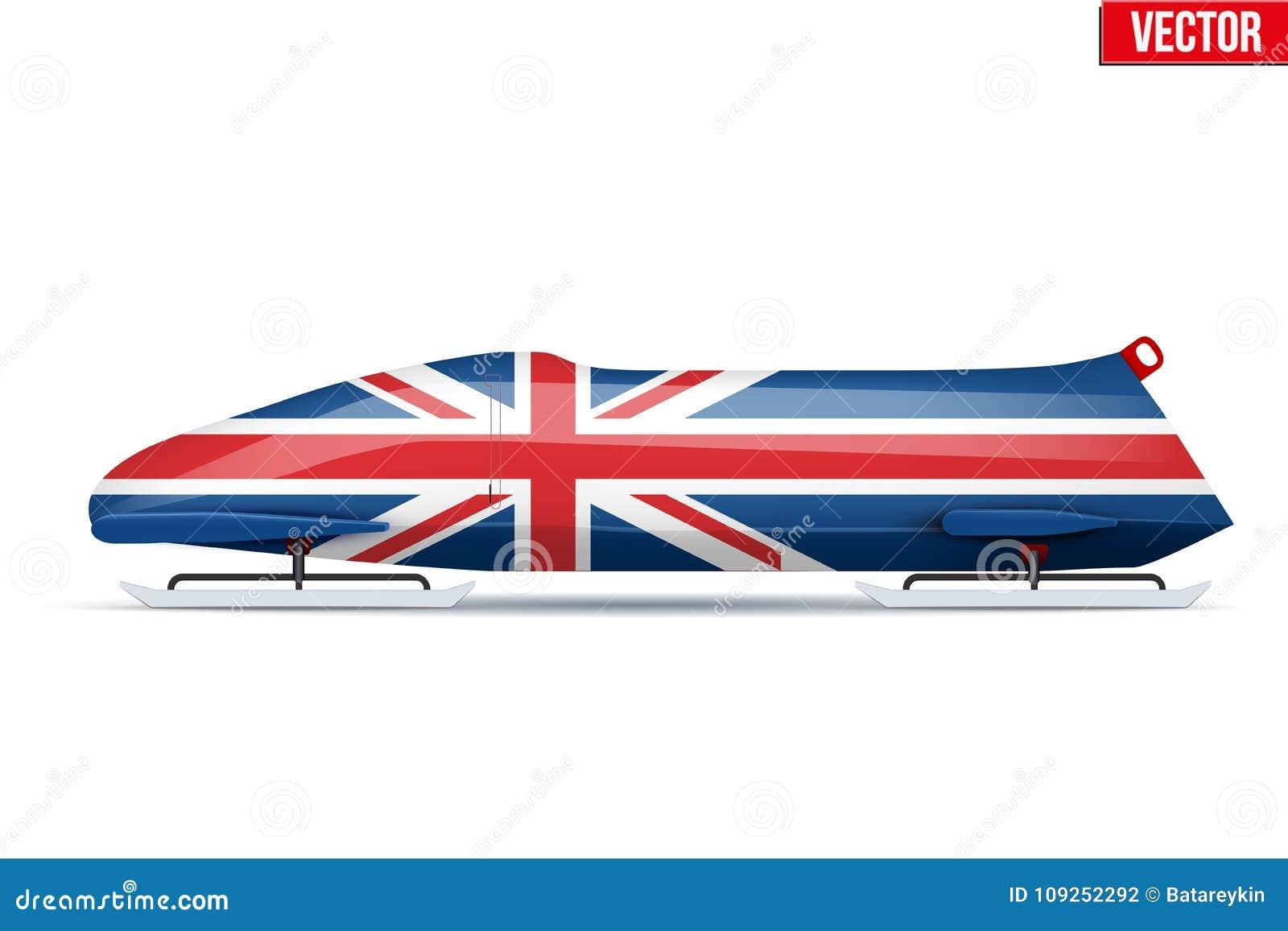 Británicos Bob para el trineo