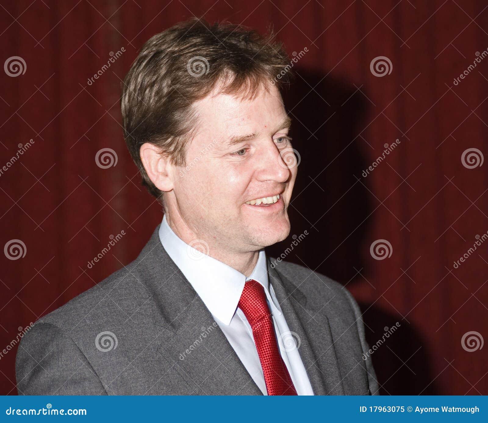 Britain clegg zastępca ministra nick prima s