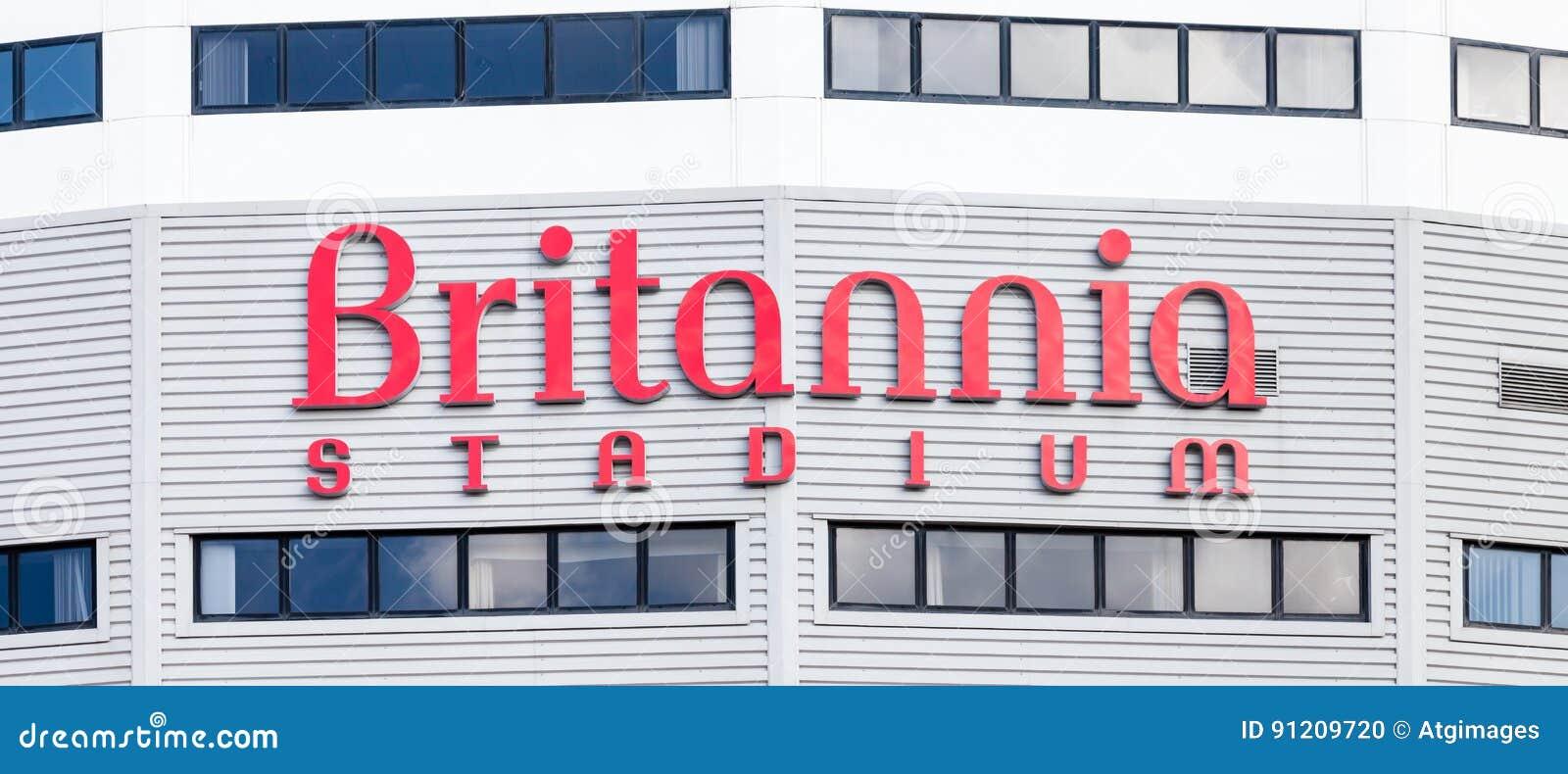 Britannia Stadium editorial image  Image of soccer, mural