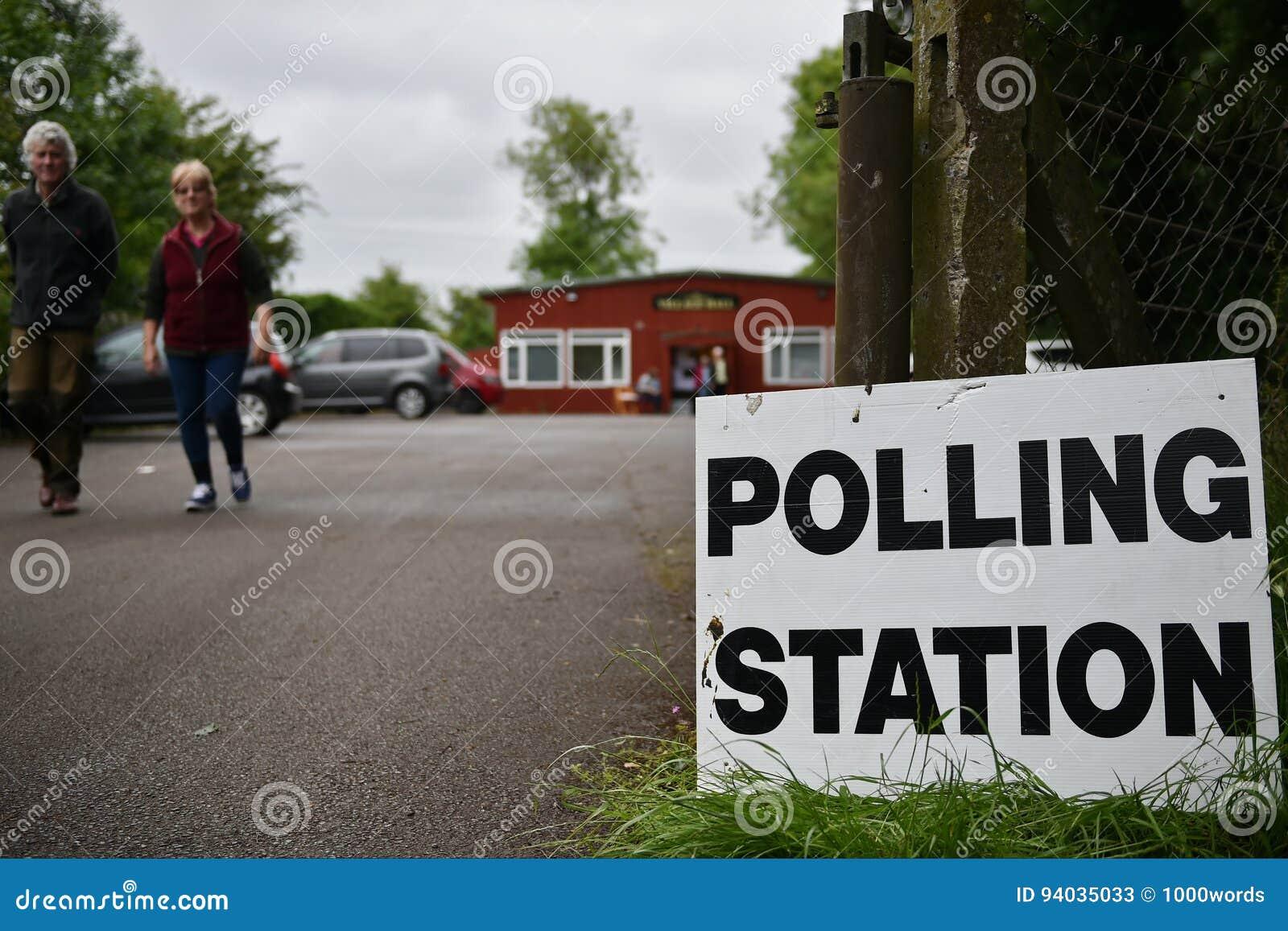 BRITISCHE Parlamentswahl