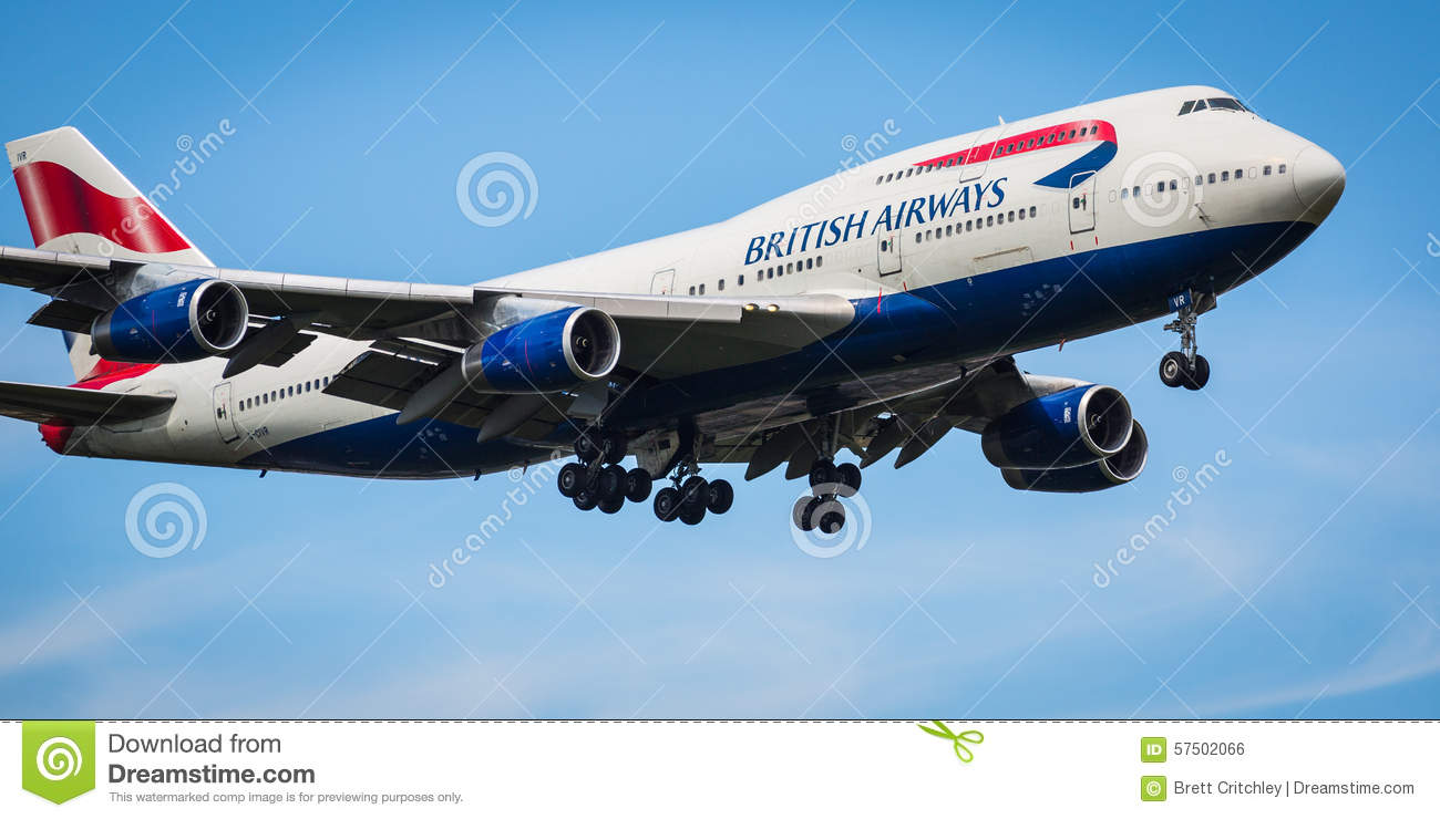British Airways Boeing 747-400 αεροσκάφη