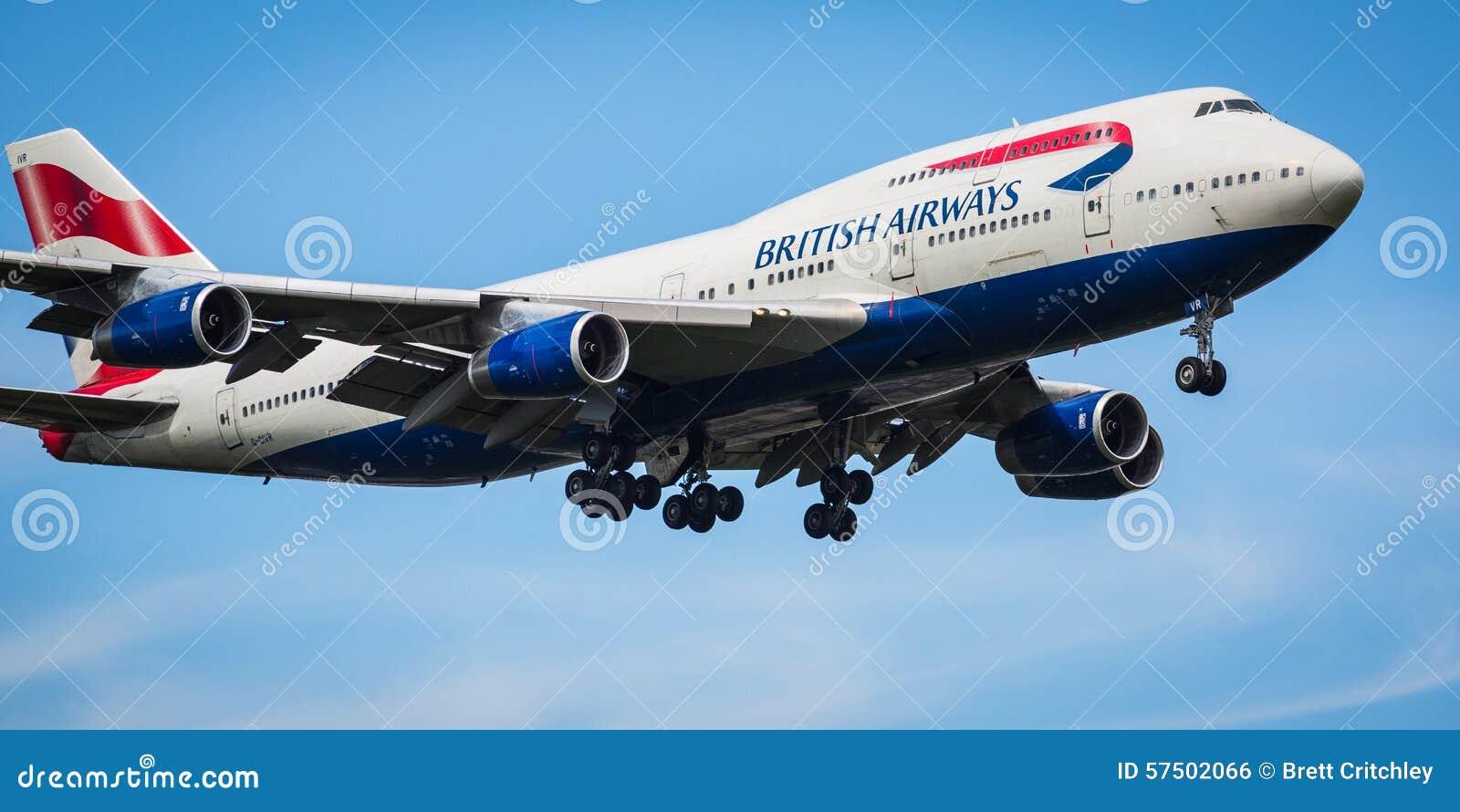 British Airways Boeing 747-400 Flugzeuge
