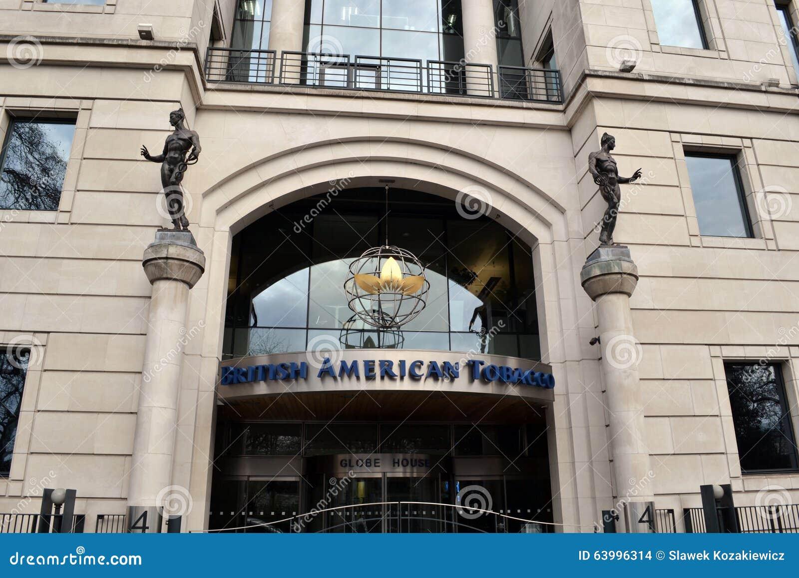 Google Hoofdkwartier Londen : British american tobacco hoofdkwartier londen redactionele stock
