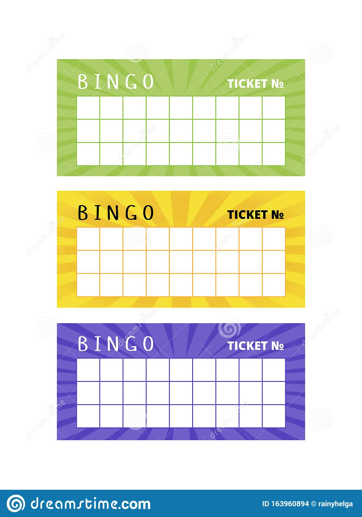 Picture Bingo Heart card on yellow background