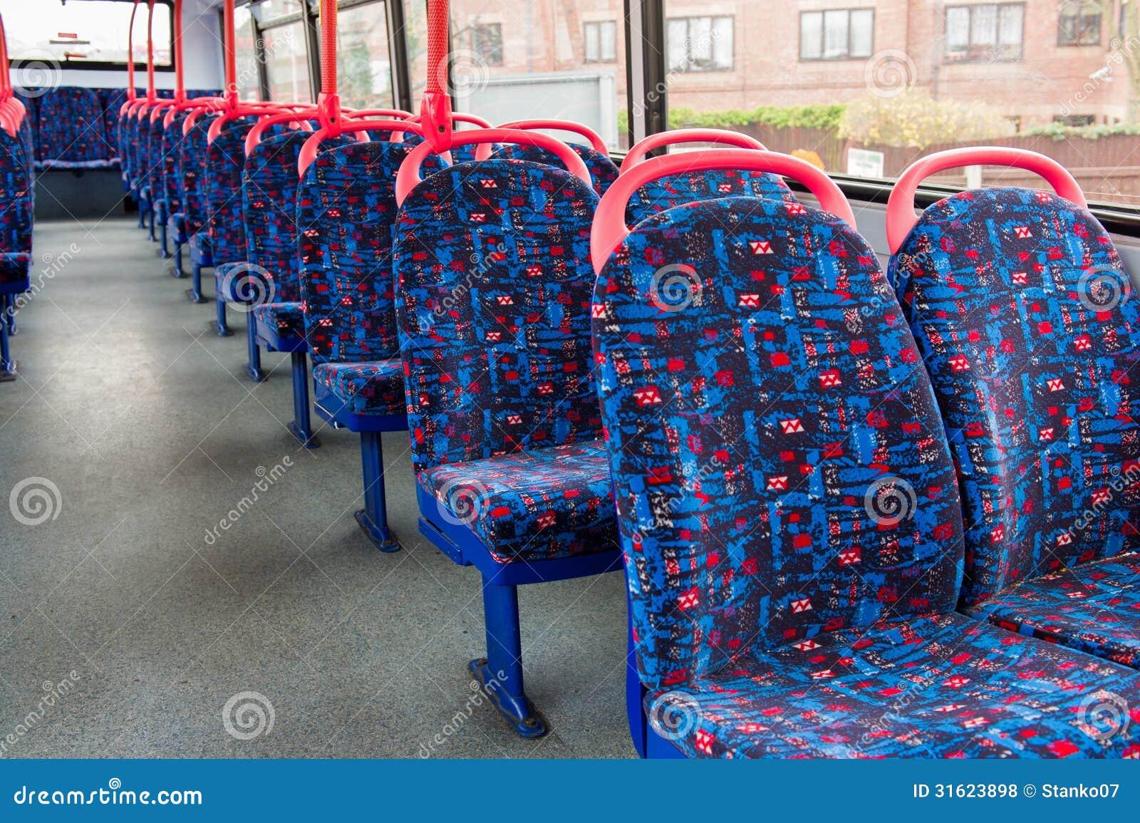 British bus interior