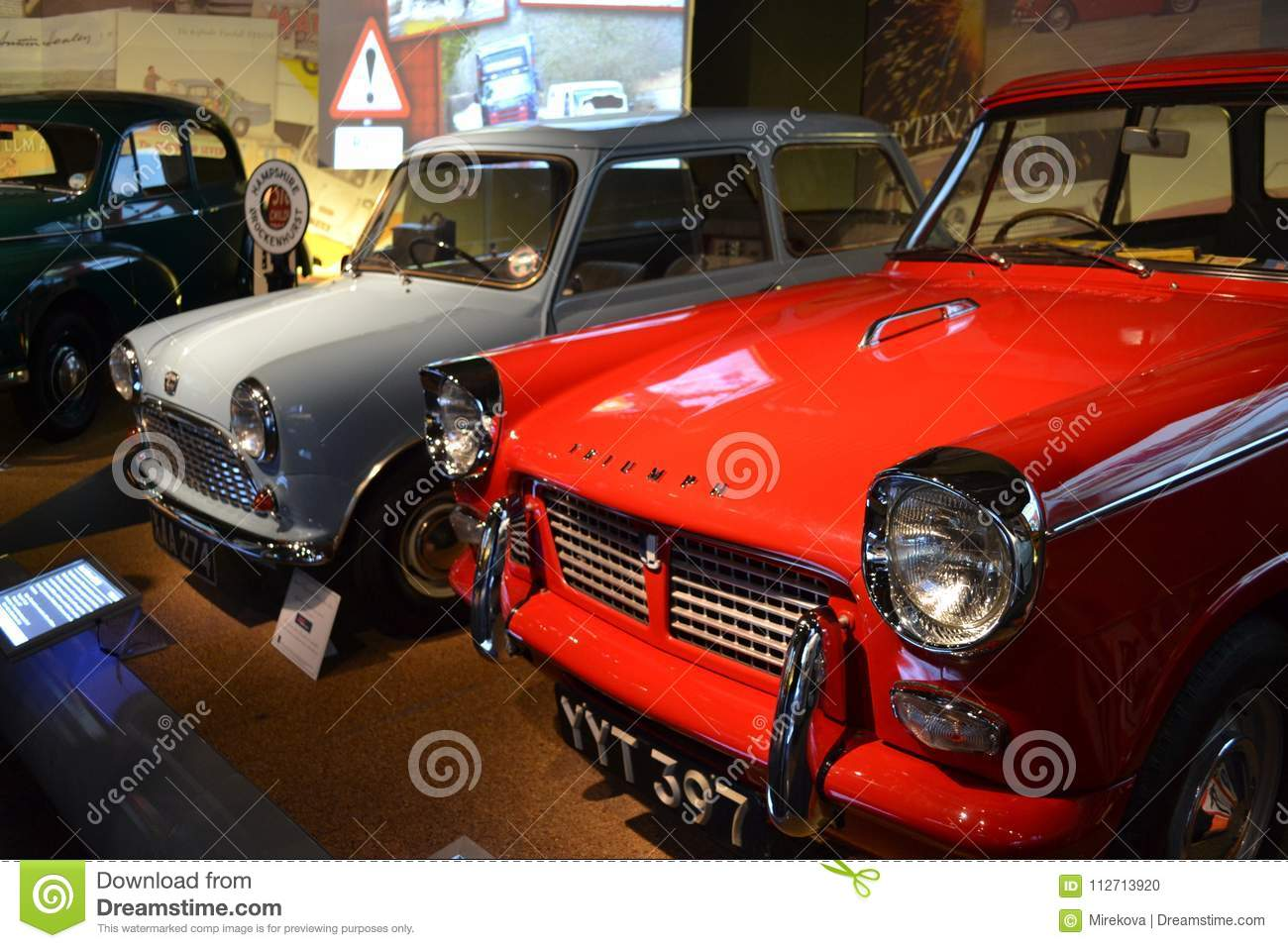 British Classic Cars In Beaulieu England Editorial Image - Image of ...