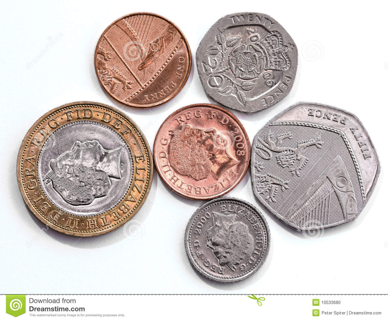 "CoinsGB - ""Your Guide To British Coins"" Home Page Current uk coins pictures"
