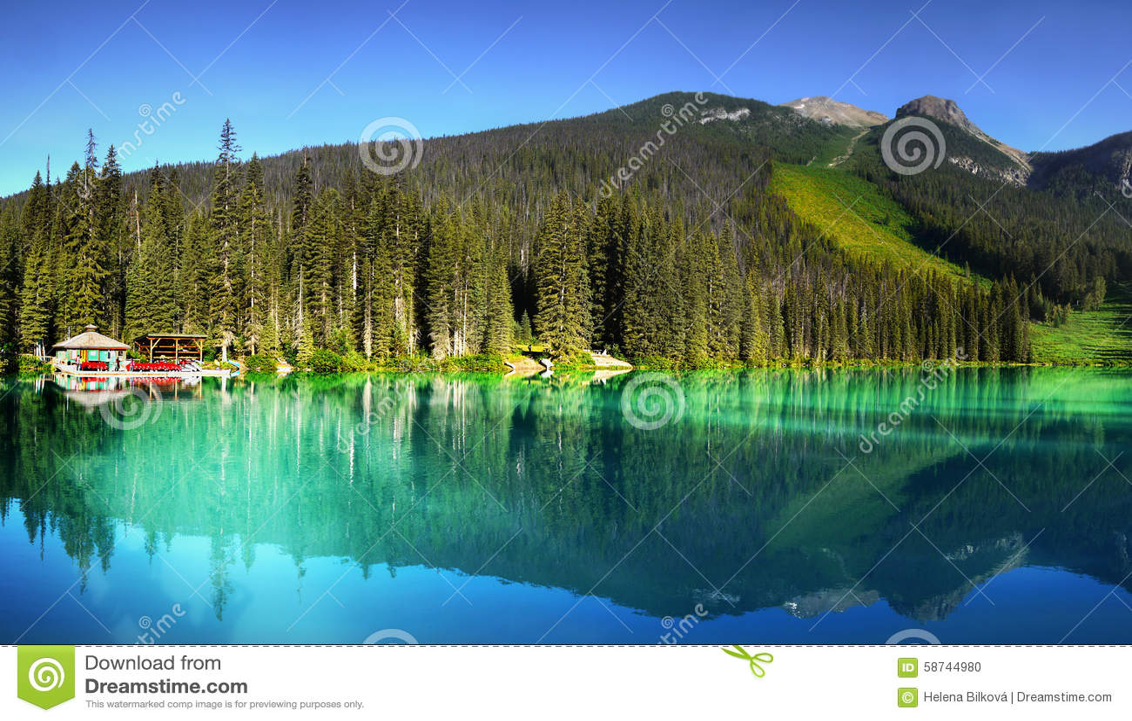 British Columbia, Vancouver, Emerald Lake