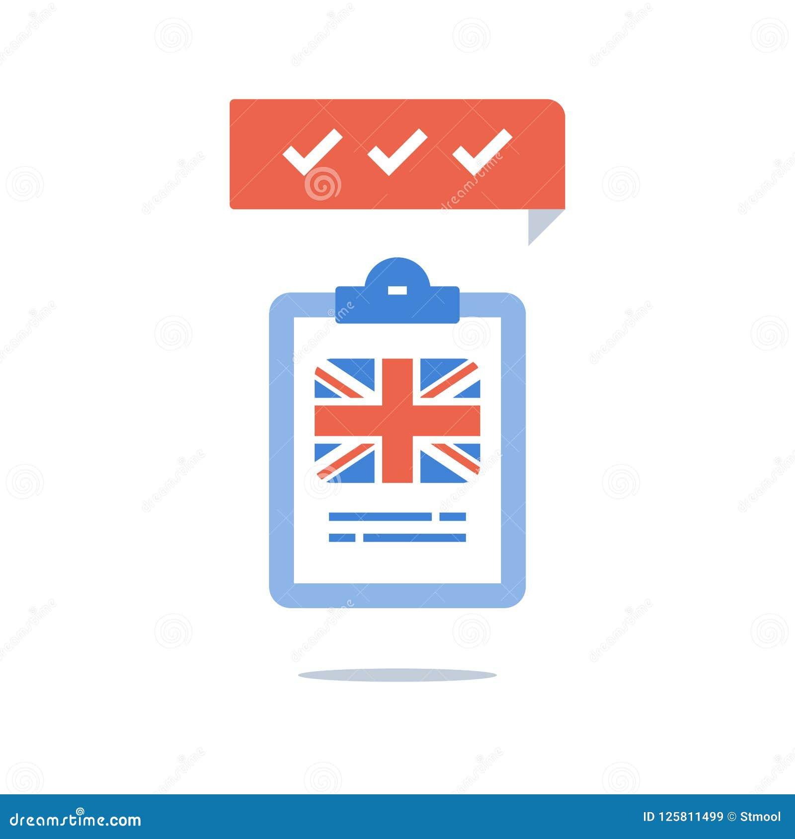 British English Language, Education Program, Fast Training Course
