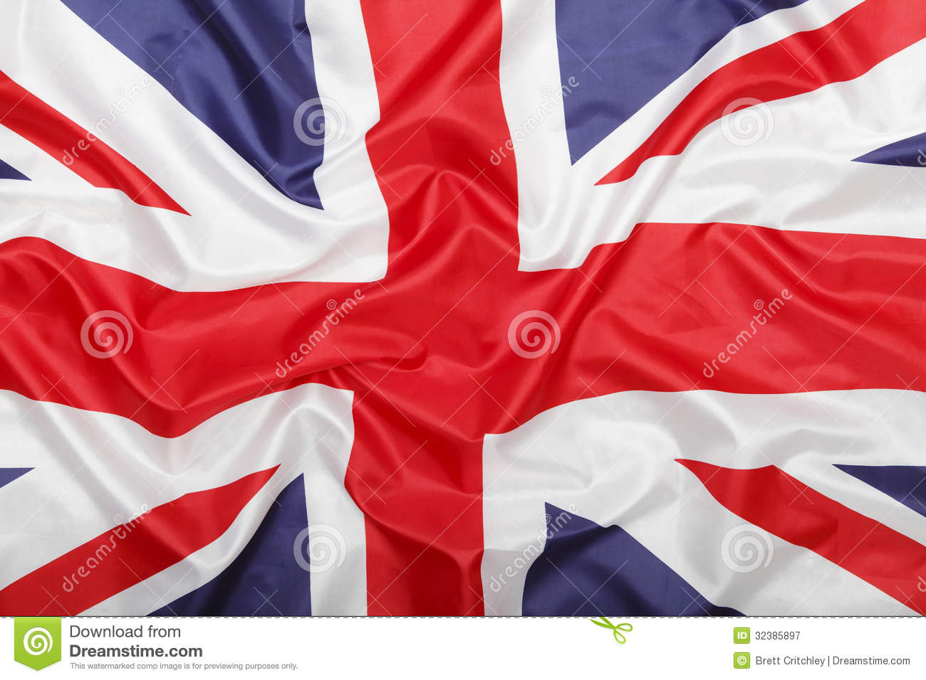 British Union Jack flag background