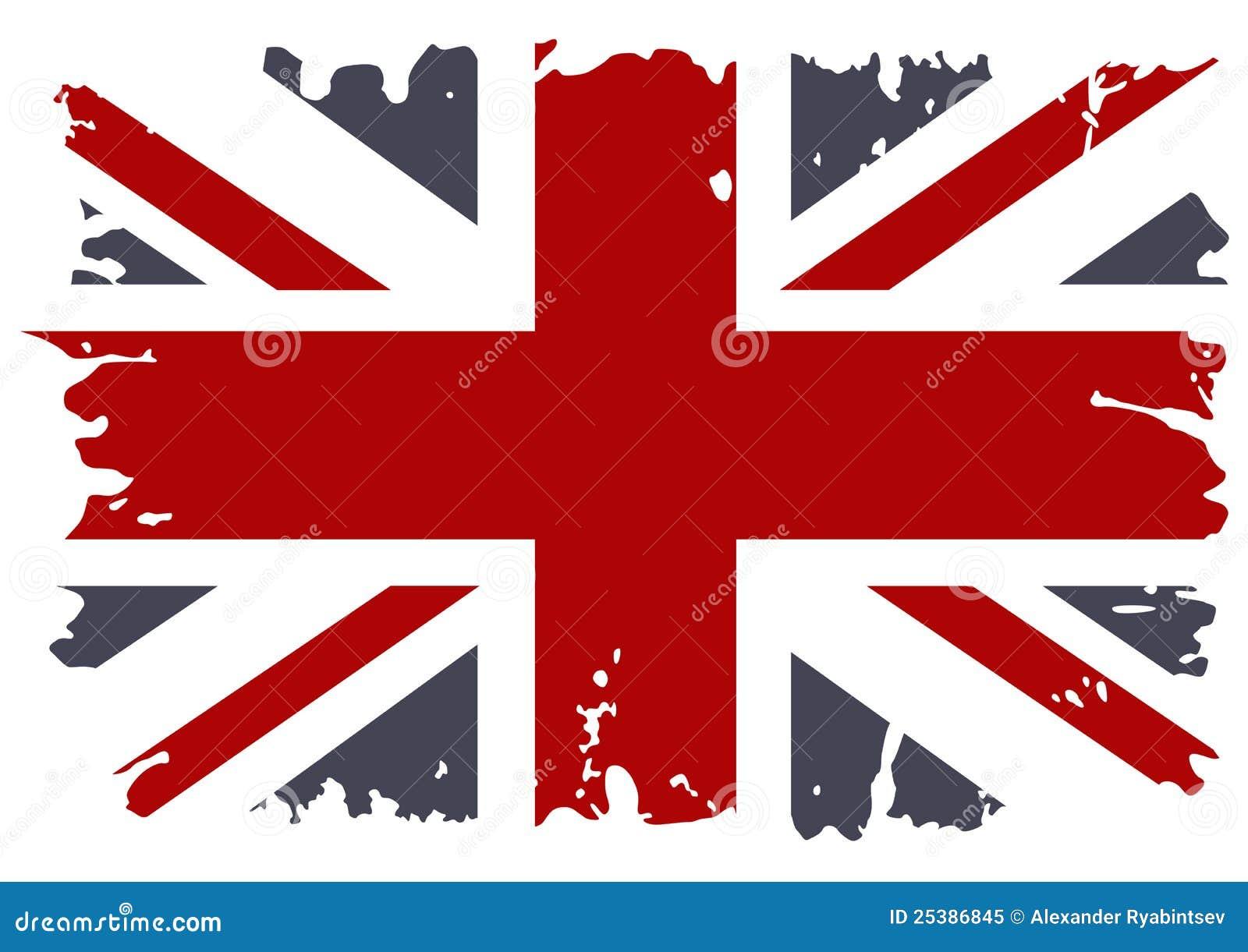 British flag grunge. stock vector. Illustration of ireland ...