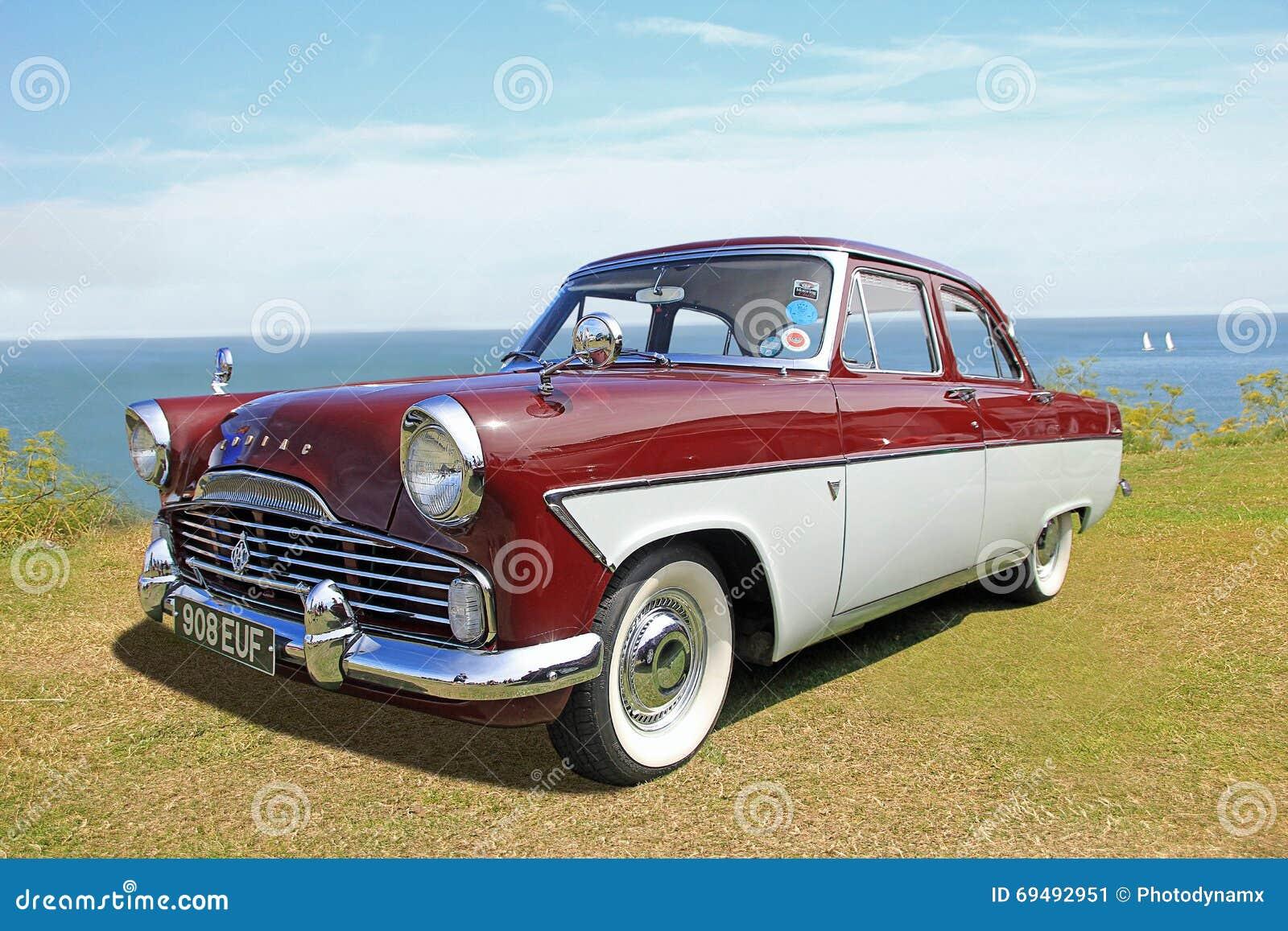 British Ford Zodiac Classic Car Editorial Photo Image