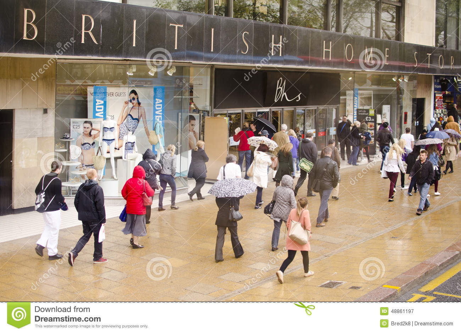 British clothing store