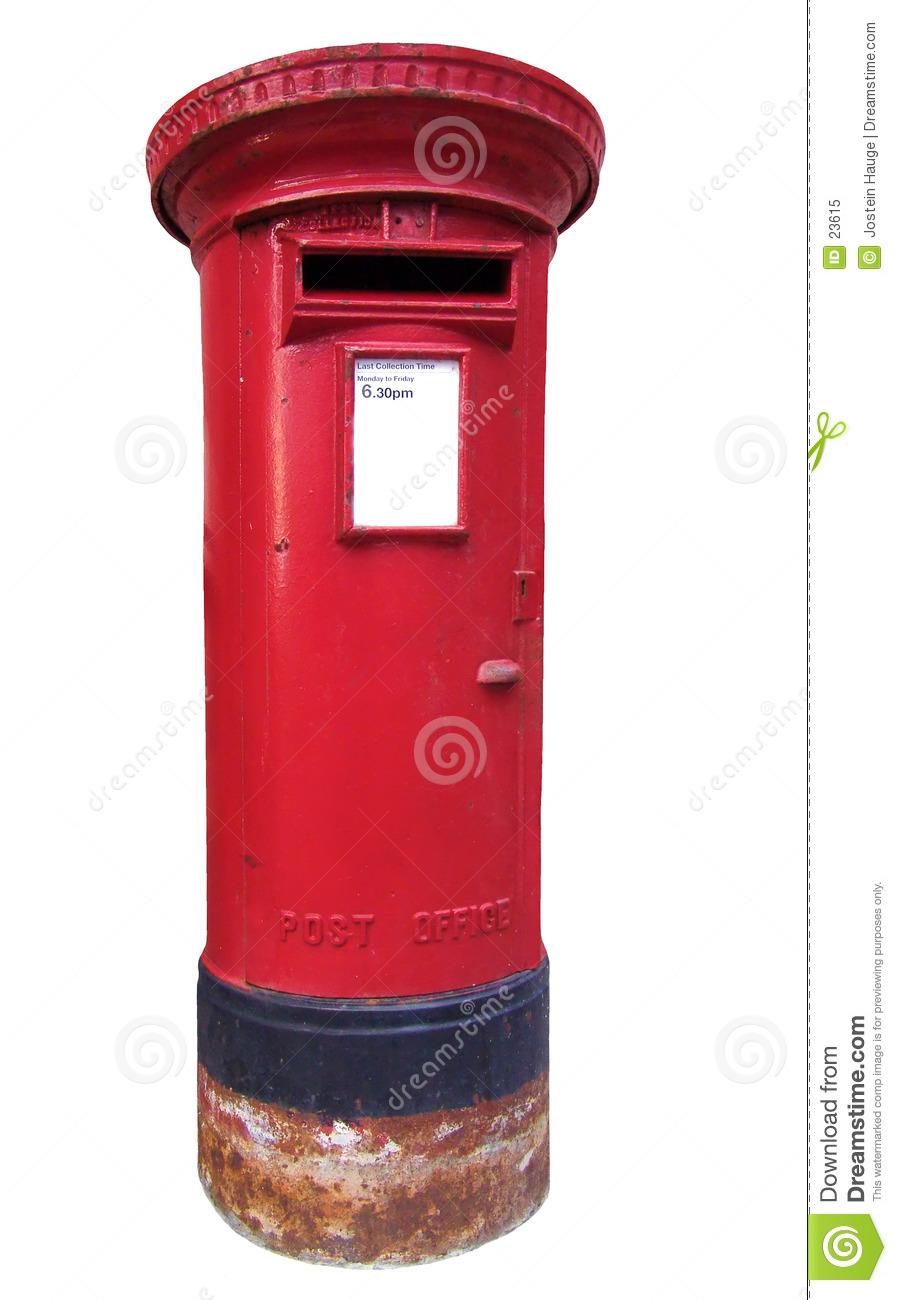 British Mail Box Royalty Free Stock Photo - Image: 23615