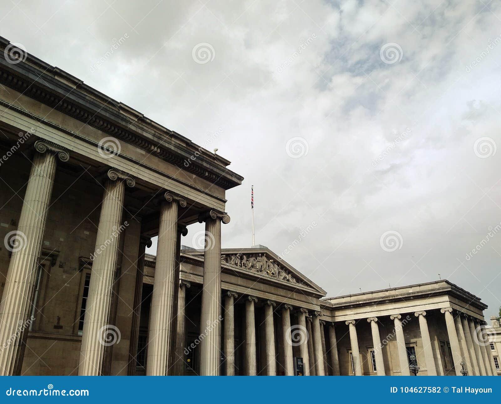 Download British Museum, Londen, Engeland Redactionele Fotografie - Afbeelding bestaande uit onderzoek, cultureel: 104627582